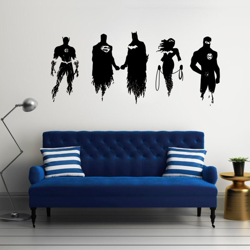 Superhero Cyborg Justice League Children/'s Decal Wall Art Sticker Picture Marvel