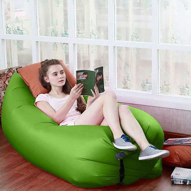 New Inflatable Sofa Hot Selling Outdoor Sleep Relax Air Sofa Muebles De Jardin Water-proof Folding Inflatable Sofa 2016 года