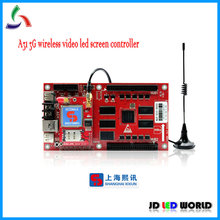XIXUN A31 3G wireless full color video LED Advertising screen controller card(China)