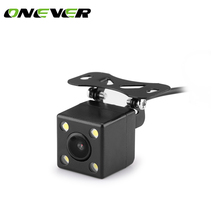 Car Rearview camera plug LED HD night vision camera 120 degrees mini night vision rear view reversing camera(China)