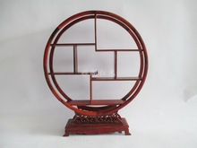 Factory direct red wood mahogany Shelf Treasure House Redwood crafts jewelry rack holder wholesale