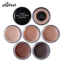 Popfeel Brand Face Eyes Concealer Cream Makeup Palette Full Coverage Flawless Base Foundation Contour Cream Make Up Cosmetic Set(China)