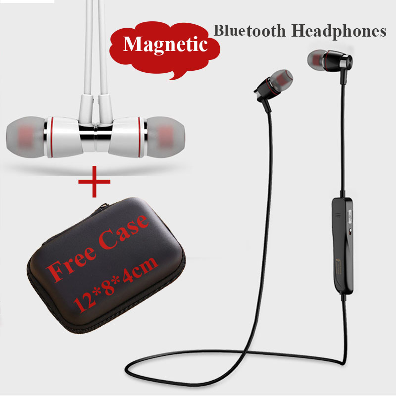 Joway H08 Bluetooth Headset Magnetic Wireless Sport Bluetooth Headphone  Earphone with Mic Headset Earbuds with Case/Bag free<br><br>Aliexpress