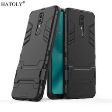 US $2.63  38%OFF | Cover OPPO F11 Case Rubber Robot Armor Protective Phone Shell Bumper Hard PC Back Phone Cover for OPPO F11 Case for OPPO F11