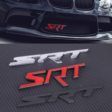 CITALL Car Metal 3D SRT Styling Front Grill Grille Badge Emblem with Screw Gasket Kit fit for Dodge Charger Challenger Ram(China)