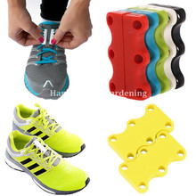 1 Pair Novelty Magnetic Casual Sneaker Shoe Buckles Closure No-Tie Shoelace