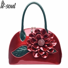 Patent Leather Fashion Women Shoulder Bags Hot Women Handbags Luxury Women Bags Famous Brands Female Tote Bag Bolsas ZCP187(China)