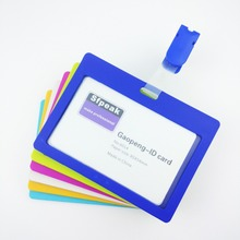 SFpeak Cover card,ID Holder,Work card,badge identification tag, colour staff badge Student transit Gifts for colleagu