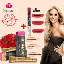 DERMACOL MAKE-UP COVER Legendary high covering make-up natural looking finish for your entire face and body(China)