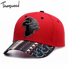 [TIMESWOOD] Street Map Of Africa Baseball Cap Polyester Embroidery Red Hat Bone Gorras Beisbol Casual Strapback For Men Women