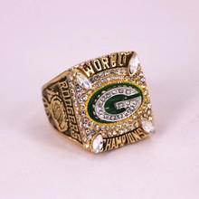 US Size 6 to 15! Factory price 2010 Green Bay Packers world championship rings replica solid ring RODGERS drop shipping(China)