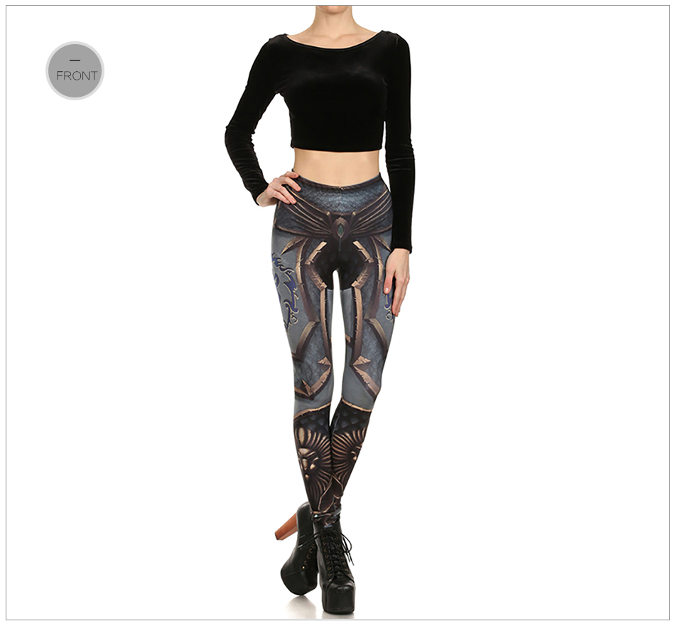 17 New Design Spring Summer WOW OF THE HORDE Legins Popular Fashion Leggins Printed Women Leggings 18