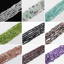 "3-9mm Natural Crystal Stone Freeform chip beads  34""/84cm, For Diy jewelry making , provide mixed wholesale for all items !"