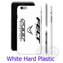 Felt bicycles Bike Logo White Phone Case Cover for iPhone 4 4S 5S 5 SE 5C 6 6S 7 Plus  ( Soft TPU / Hard Plastic for Choice )