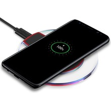9V 5V 10W Qi Wireless Fast Charger Stand Pad For Galaxy S8 Plus S7 S6 Edge+ Note 5 Nexus 4 5 Lumia 920 Sony Z4V LG Android Phone