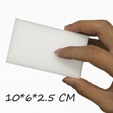 400 pcs/lot White Magic Sponge Eraser Melamine Cleaner Multi-Functional Kitchen Bathroom/Dish Cleaning Nano Sponge 10*6*2.5CM(China)
