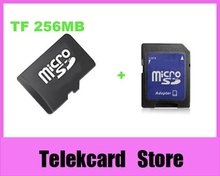 Free Shipping! 256MB TransFlash Card, 256MB TF CARD,Genuine 256MB micro SD CARD, 20pcs/ lot(China)