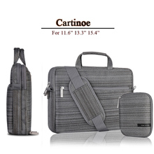 Computer Shoulder Bag 11.6 13.3 15.4 Inch For Macbook Air 11 Case Lenono Thinkpad Samsung Asus Tablet Messenger Bag Men Fashion
