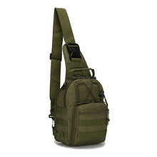 Explorer Gear Military Riding Gear Shoulder Sling Bag Chest Fly Men and Women Pack for Ipad 1000D Cordura Chest Pack serpentine(China)