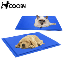 [COOBY]Dog Cooling Mat Cover Pet Bed for Large Dogs Summer Bed Pads Eco-friendly Ice Cooling Products for Cats Puppy py1536(China)