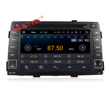 Free shipping 7inch HD screen Android7.1  KIA Sorento 2010 2011 2012  car audio radio player with gps navigator ipod dvd player