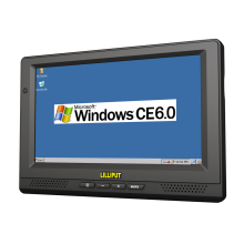 "LILLIPUT PC-865 8"" TFT LED Mobile Data Terminal Embedded All In One PC with OS WinCE 6.0 Linux 2.6.32"