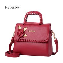 Nevenka Fashion Women Bag Fresh Ladies Handbags Casual Crossbody Flap PU Messenger Bags Dress Evening Bag Teenagers College Sac(China)