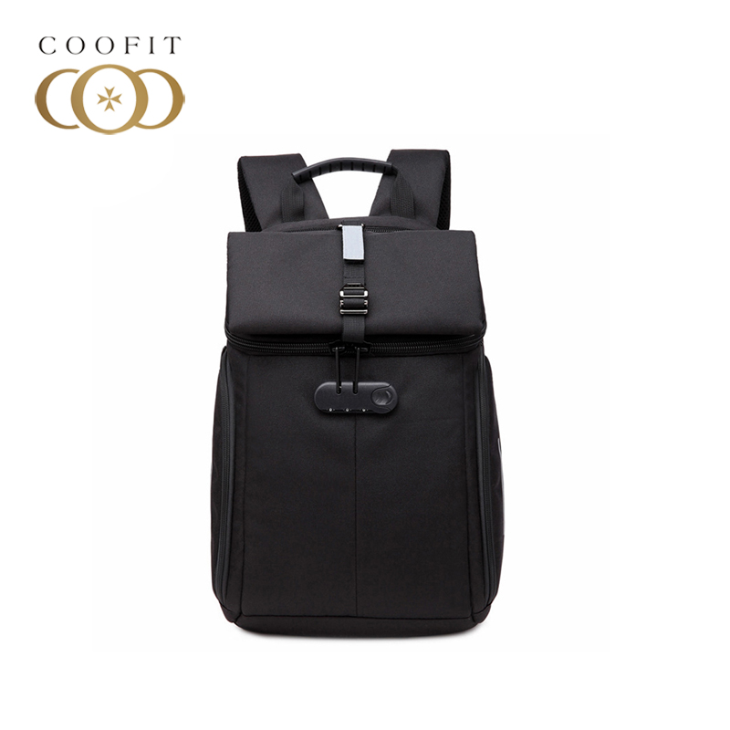 coofit Durable Travel Backpack For Men Casual Oxford Large Capacity Waterproof Anti Theft Laptop Business Backpack With 3 Colors<br>