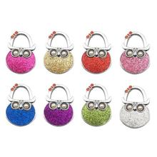 1 Pcs Cute Colorful Owl Hook Hair Pin Key Holder Organizer Decor Gifts