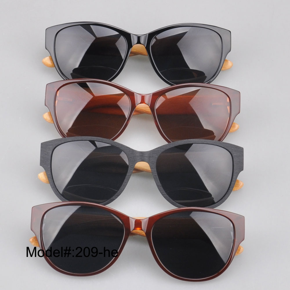 209  new arrival full rim  uniex vintage sunglasses  with bamboo temple  UVB  UVA  sunshade<br><br>Aliexpress