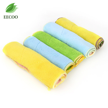 Absorbent Microfiber Towel Kitchen Cleaner Wipping Rags Cleaning Cloth Bath Dust Face Hair Hand Dryer Towel Colorful Choose