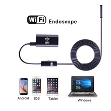 8mm Lens Android IOS Wifi Endoscope with 1m 1.5m 2m 3.5m 5m Cable Iphone Endoscope Inspection Borescope for IOS Android Windows