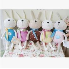 Plush-Toys Birthday-Present Rabbit Cute Wedding-Decorations And 10PCS Pretty Smile Many-Color