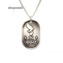 W5294 New Fashion Rock Band Hollywood Undead Rock Music Alloy Pendant Necklace