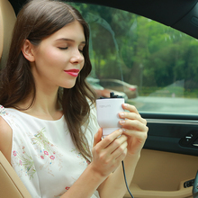 Sikeo 2 Colors Nanum Car Air Purifier Portable Air Cleaner USB Charger Suit for Home Office Car Fragrance Cup(China)