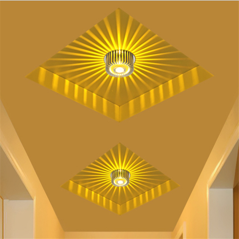 LED Crystal Aisle Celling Light (9)