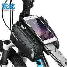 Buy ROSWHEEL Waterproof bicycle bag mtb bike phone bag 4.7 5.7 6.0 front frame top tube bag cycling bag bicycle accessories 2017 for $15.26 in AliExpress store