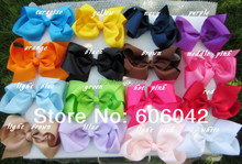 XIMA 32pcs/lot 6 inch Big Ribbon Bows Hair Accessories Bows without  Clip Hot Selling Bows for Kids Hair Accessories