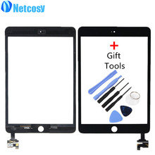 Netcosy Touch Screen Digitizer with IC Conector Front Touch Panel Glass Lens for iPad Mini 3 TouchScreen Replacement & Tools(China)