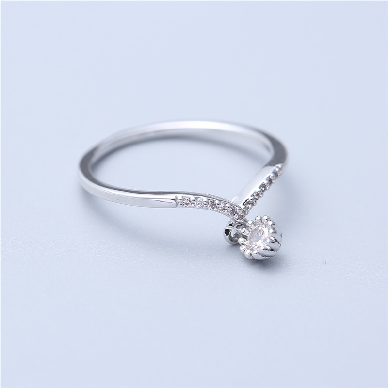 Wedding Rings Jewelry Zircon