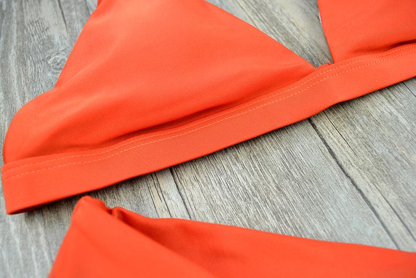 Hot Sexy Bikini 18 bandeau Swimsuit Thong Swimwear Women Bikinis Push Up Red Bikini Set brazilian Biquini Female Bathing Suit 28