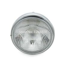 Chrome Halogen Headlight Lamp For Honda CB400 CB500 CB1300 Hornet 250 600 900 VTEC / VTR 250 Clear Lens Head Light