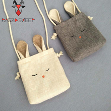 Raged Sheep Girls Small Coin Purse Change Wallet Kids Bag Coin Pouch Children's Wallet Money Holder Lovely Kids Gift Rabbit Bag