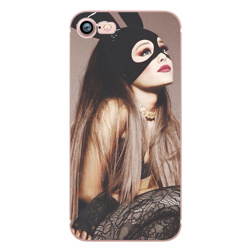 Ariana Grande Coque Dangerous Woman Everyday Beauty and the Beast Phone Cases for iphone 5s 7 6 plus 6s SE 5 Soft Clear Silicone (3)