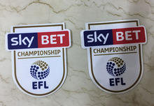 16-17 England EFL Cup Championship Patch Soccer Badge