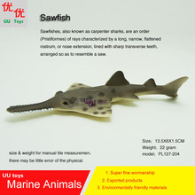 Hot toys Sawfish Simulation model Marine Animals Sea Animal kids gift educational props (carpenter sharks) Action Figures