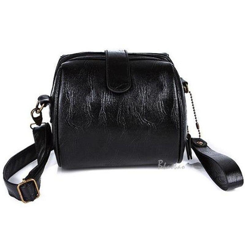 2017 Fashion Women Shoulder Retro Handbag Mini Packet Female Leather Handbags Round Rivet Messenger Bag Phone Package<br><br>Aliexpress