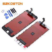 Original  Quality SZKOSTON Screen LCD For iPhone5 6 6 plus LCD Complete Display Touch Screen Digitizer Assembly Replacement