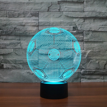 3D Visual Light 7 Color Changing Night Light for christmas gifts USB Touch Table Lampara bedroom Sleeping Light Bedroom Decor