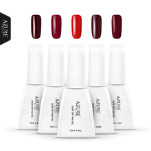 AZURE UV Gel Nail Polish wine red Color Nail Gel Polish Vernis Semi Permanent  Gel Lak Varnishes Gelpolish make up beauty